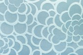Abstract blue circle fabric texture and background — Stock Photo