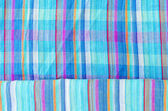 Colorful line patterned fabrics texture background — Stock Photo