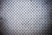 Seamless steel diamond plate texture — Stock Photo