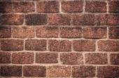 High resolution orange modern pattern of brick wall — Stock Photo