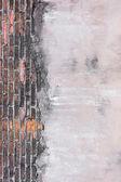 Haute résolution photos vintage orange motif de mur en brique — Photo