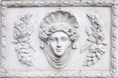 3D art Roman sculpture made of white plaster — Stock Photo