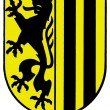 Coat of arms of Dresden — Stock Photo #60783677