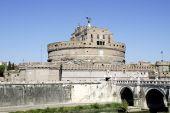 Angel hrad v Římě — Stock fotografie