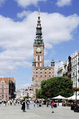 Historic Old Town of Gdansk in Poland — Stock Photo