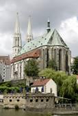 Saint Peters Church of Goerlitz in Saxony — Stock Photo