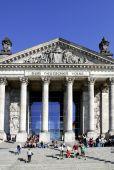 Reichstag building in Berlin  — Stockfoto