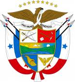 Coat of arms of Panama — Stock Photo