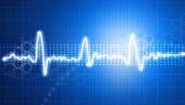 Electrocardiogram, ecg background — Stock Photo