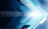 Abstract arrows background — Stock Photo