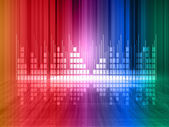 Colorful equalizer background — Stock Photo