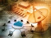 情報技術の背景 — ストック写真