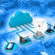 Cloud computing concept — Stock Photo #53890631