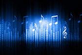 Music equalizer background — Stock Photo