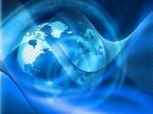 Global Internet technology  concept — Photo