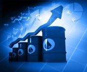 Increasing oil price — Stock Photo
