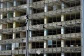 Demolition skyscraper. — Stock Photo
