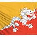 Flag of Bhutan — Stock Photo #78172484
