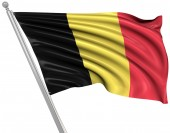 Flag of Belgium — Stock Photo