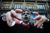 Belgrado zombie lopen — Stockfoto