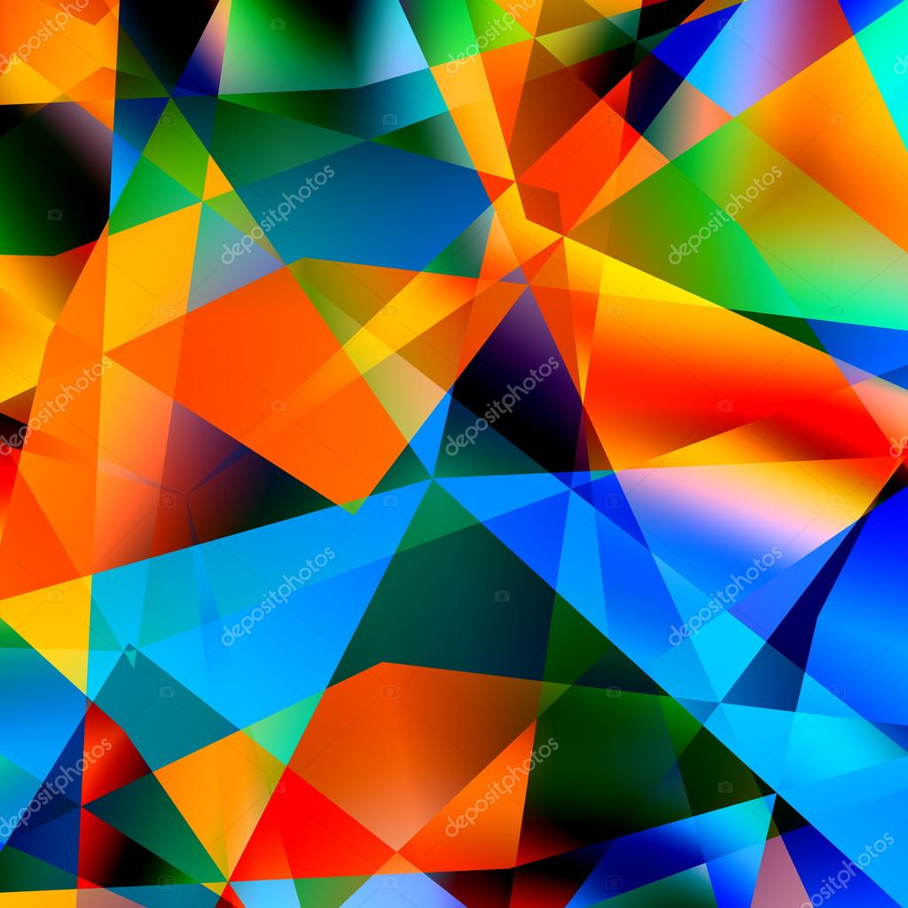 abstract polygonal colorful background - photo #23