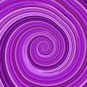 Abstract Twisted Purple Fractal Background - Mental Disorder Concept - Hypnosis Spiral - Artificial Computer Generated Image - Creative Psychedelic Art - Unique Crazy Effect - Funky Infinite Loop - — Стоковое фото