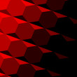 Abstract Red Geometric Texture. Dark Shadow. Technology Background Pattern. Repeatable Hexagon Design. Digital 3d Image. Diagonal Tilt. Monochrome Colored Illustration. Set of Flat Elements. Tiling. — Stock Photo #70102601