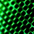 3d Square Shapes Under Green Light. Beautiful Science Background. Abstract Pattern Illustration. Modern Texture Design Digital Graphic Element. Soft Glowing Elements. Simple Geometric Art. — Stock Photo #70102605