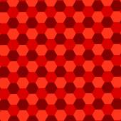 Red Hexagons Background. Abstract Geometric Pattern. Mosaic Tile Wallpaper. Endless Floor Tiles. Simple Stylish Tiling. Blank Polygonal Backgrounds. Minimalistic Tiled Parquet. Trendy Composition. — Stock Photo