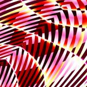 Bizarre Abstract Art Creation. Creative Digitally Generated Image Design. Unique Background Graphic. Fantasy Stripes Pattern. Pseudo Pop Style Illustration. Modern Digital Backgrounds. Composition. — Stock Photo