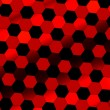 Black red abstract digital background. Technology texture. Beautiful, simple picture with nobody. Tilt view. Flat design illustration. Modern art. Image with reflective effect. Illuminated tiles. — Stock Photo #75788753