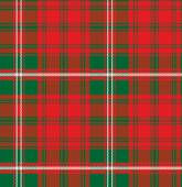 Vector seamless pattern Scottish tartan Royal Stewart — Stock Vector