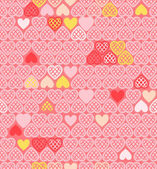 Vector background of Valentines day. — Stock Vector