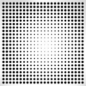 Abstract  halftone — Stock Vector