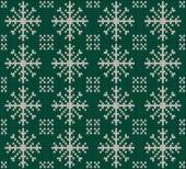 Christmas seamless knitted background. — Stock Vector