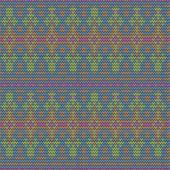 Color knitted seamless pattern. 10 eps — 图库矢量图片