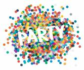 Party poster — Stock Vector