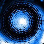 Blue swirl vector — Vector de stock