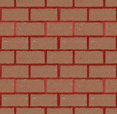 Кирпичной стены бесшовные векторные. Иллюстрация в стиле гранж — Cтоковый вектор