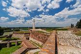 Belgrad fästning och kalemegdan park — Stockfoto