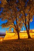 Parc de kalemegdan et de la forteresse de belgrade — Photo