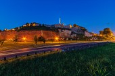 Belgrader festung kalemegdan park — Stockfoto