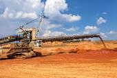 Open mining pit  — Stock Photo