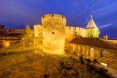 Belgrade fortress and Kalemegdan park — Stock Photo