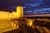 Belgrado fortaleza e kalemegdan park — Fotografia Stock