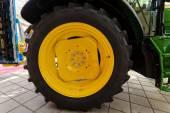 Tracktor tire — Stock Photo