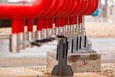 Refinaria de petróleo — Fotografia Stock