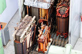 High voltage transformer — Stock Photo