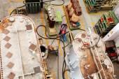 高电压互感器 — 图库照片