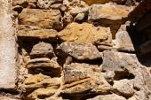 Oude stenen muur — Stockfoto